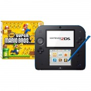 Nintendo Pack Nintendo 2DS Azul/Negro + New Super Mario Bros 2 Special Edition