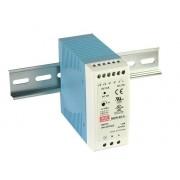 DIN sínre szerelhető LED tápegység Mean Well MDR-60-24 60W 24V