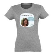 YourSurprise T-shirt Fête des Mères - Femme - Gris - S