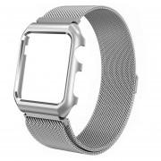 Reloj De Pulsera De Reloj Iwatch De Acero Inoxidable Para Apple Watch