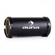Auna Dr. Beat 2.1 bluetooth hangfal, USB, SD, AUX, FM, akkumulátor, sárga (CS6-DR.-BEAT-GOLD)