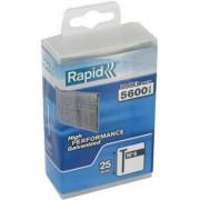 Rapid Nagels 8/25mm Gegalvaniseerd in kunststof doos (5600 stuks)