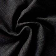Spanyol lakástextil - raszteres, uni sötétszürke, 140 cm és 280 cm szélességben