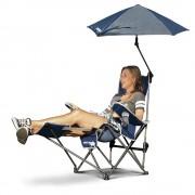 Sklz silla con sombrilla sklz sport brella azul