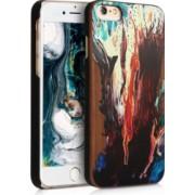 Husa iPhone 6 / 6S Lemn Maro 46078.04