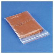 Sachet plastique zip transparent 60 microns Rajagrip 6x8 cm