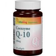 Coenzima q10 naturala 60mg 60cps VITAKING