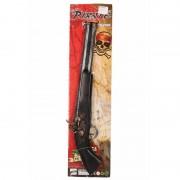 Geen Piraten pistool zwart/goud 48 cm