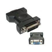 NTR 92001 VGA dugó - DVI-I 24+5 pin aljzat adapter