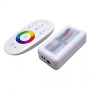 Tradico® DC 12V 24V RGB Led Controller 2.4G RF Touch Screen Remote Control