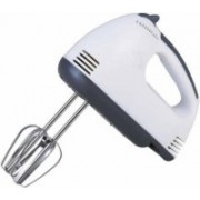 D N FASHION Electric Handheld 7 Speed Egg Beater Hand Blender Cake Baking Tools 180 W Hand Blender(White)