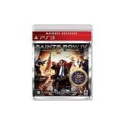 Game - Saints Row IV - Edição National Treasure - PS3