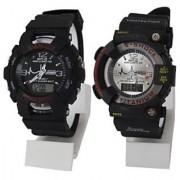 2 Sport Multifunction Dual watch combo for men shree ladi