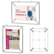 Edimeta Porte-affiches à ressorts Cadro-Fix® 60 x 80 cm