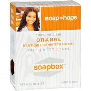 Soapbox Soaps Bar Soap - Uplift - Orange - 4 oz