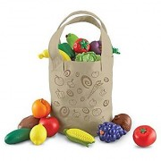Learning Resources Fresh Picked Fruit And Veggie Tote