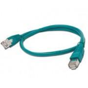 Cable CAT6 UTP moldeado 0 5m Verde
