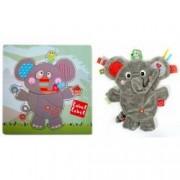 Pachet Label Label minipaturica puzzle Produsul 1 - Elefant