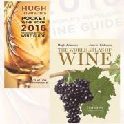 Hugh Johnson & Jancis Robinson Hugh Johnson's Pocket Wine Book 2016 and The World Atlas of Wine, 7th Edition 2 Books Bundle Collection