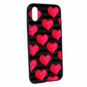 Husa Apple iPhone XS Max Silicon Red Heart B102