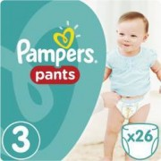 Scutece Pampers Active Baby Pants 3 Carry Pack 26 bucati