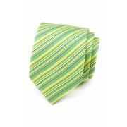 Světle zelená proužkovaná kravata Avantgard 559-1474