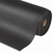 Černá průmyslová protiúnavová rohož - délka 18,3 m, šířka 91 cm a výška 0,94 cm