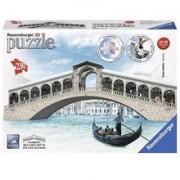 Puzzle Ravensburger 3D Ponte Di Rialto Bridge Venezia 216 Pcs
