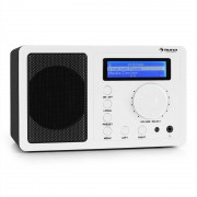 auna IR-130 Internetradio W-LAN Streaming weiß
