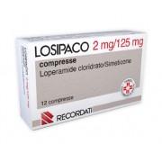 Recordati Spa Losipaco 2 Mg + 125 Mg Compresse 12 Compresse In Blister Pvc/Pvdc/Al