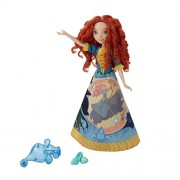 Funskool Disney Princess Rapunzel's Magical Story Skirt Doll Set, Assorted Colour