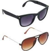Hrinkar Wayfarer Sunglasses(Grey)