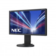 NEC monitor MultiSync LED E224Wi 21.5\ Full HD, IPS, DVI, DP, fekete