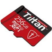 Tiitan 256 GB Micro SD Class U3 Speed up-to 300 MB/s