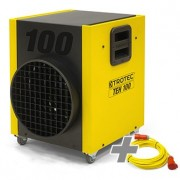 Sanayi Tipi Elektrikli Isıtıcı TEH 100 + Profesyonel Uzatma Kablosu 20 m / 400 V / 6 mm²