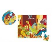 Janod Dinosaurs Hat Box Puzzle