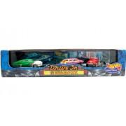 "49 Merc ""Custom"" / 50 Buick ""Woody"" / 32 Ford ""Hot Rod"" * Limited Edition * Hot Wheels 1999 Drive In Series 4 Cool Classics 1:64 Scale 3 Car Custom Vehicle Box Set"
