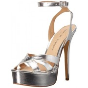 Chinese Laundry Women's Alyssa Platform Dress Sandal, Silver Metallic, 7.5 M US