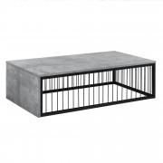 [en.casa] Konferenčný stolík AANT-0324 - MDF, imitácia betónu