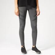adidas Women's How We Do Tights - Grey Six - L - Grey