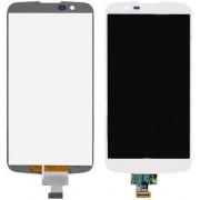 Дисплей + Тъч скрийн за LG K10 K420N Бял