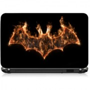 VI Collections Fire Bats Printed Vinyl Laptop Decal 15.5