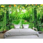 Empty Custom Wallpaper Dream Bamboo Fresh 3D TV Backdrop Living Room Room Background Mural 3d wallpaper-300x210cm