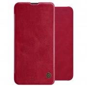 Nillkin Qin Series Samsung Galaxy A10 Flip Case - Red