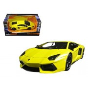 Lamborghini Aventador Lp 700-4 Yellow Exotics 1/24 By Maisto 31362