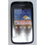 Силиконов гръб ТПУ за Samsung I8530 Galaxy Beam Черен