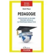 Pedagogie. Provocari si dileme privind scoala si profesia didactica - Emil Paun