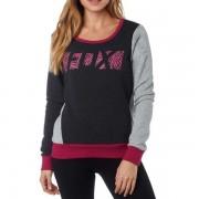 FOX ženski pulover Libra Po Crew XS crna