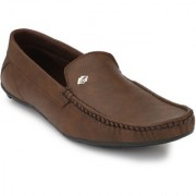 Evolite Brown Stylish Loafers Smart Casuals for Men and Boys