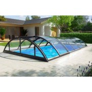 Swimmingpool-Überdachung Klasik Clear C